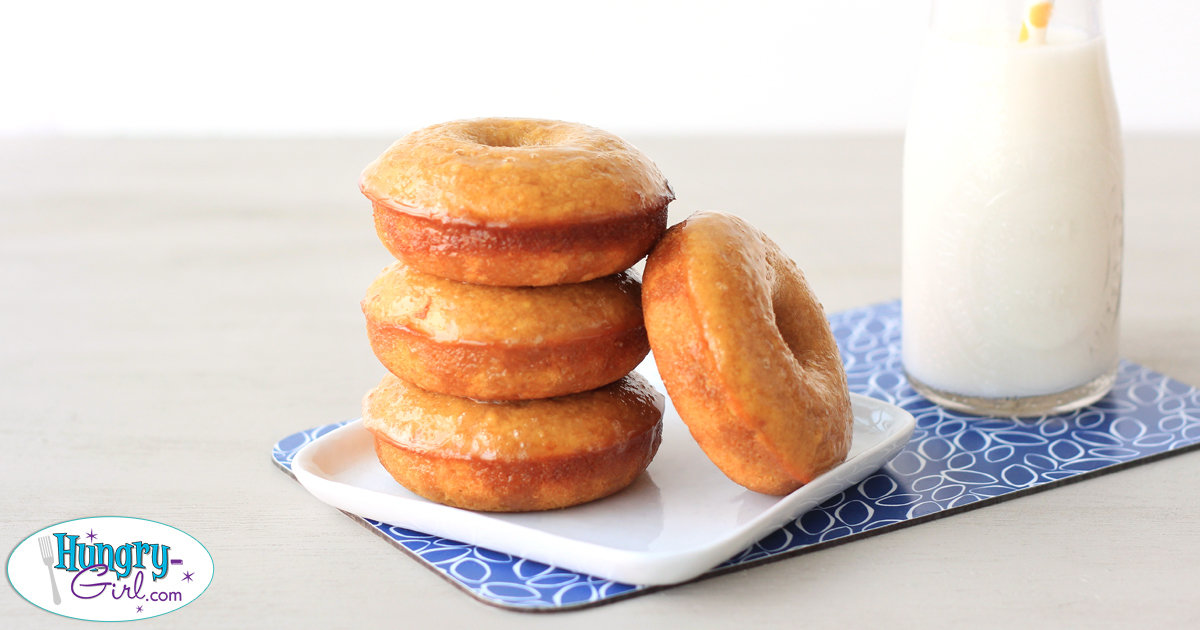 Yellow Cake Mix Baked Donuts