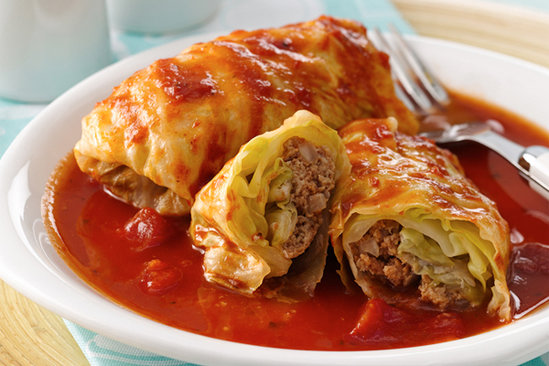 Floosh's Stuffed Cabbage Recipe | Hungry Girl