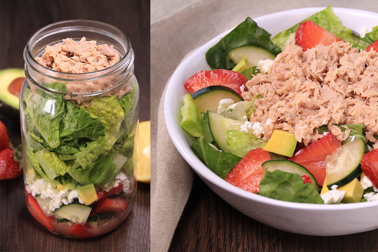 tuna fruit healthy fruit salad recipe