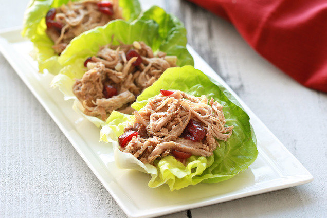 Healthy Holiday Recipe: Slow-Cooker Cranberry Pork | Hungry Girl