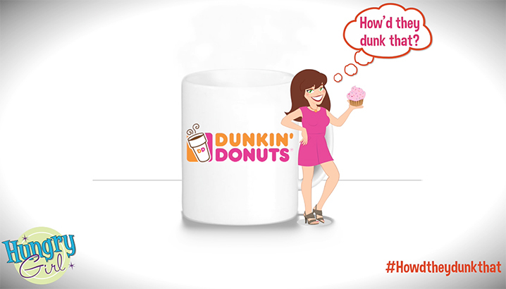 Hungry-Girl Video: Sponsored Video: Dunkin Donuts® Coffee in Vanilla Cupcake Flavor!