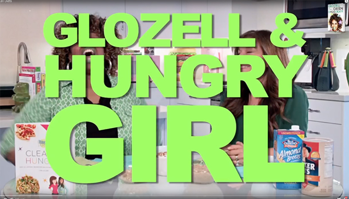 Hungry-Girl Video: GloZell Tries Recipes from Clean & Hungry