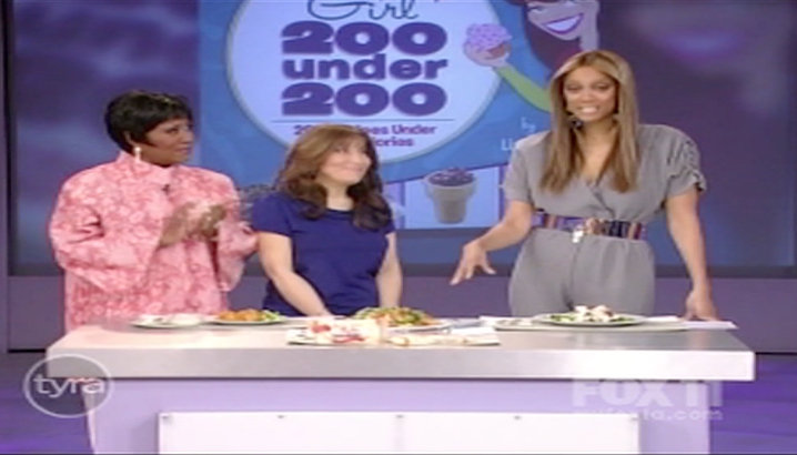 Hungry-Girl Video: The Tyra Banks Show (March 2009)