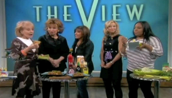 Hungry-Girl Video: The View (January 2011)