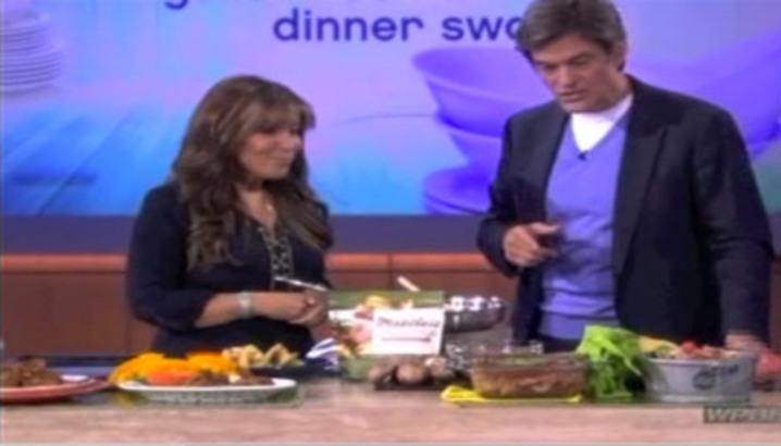 Hungry-Girl Video: The Dr. Oz. Show (September 2012)