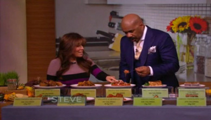 Hungry-Girl Video: Steve Harvey Show (November 2012)