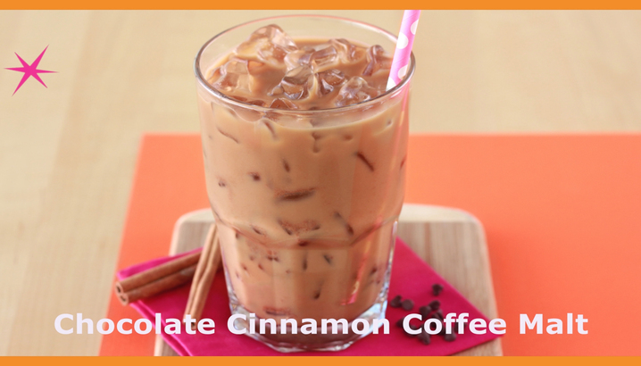 Hungry-Girl Video: Sponsored Video: Dunkin' Donuts Chocolate Cinnamon Coffee Malt Recipe