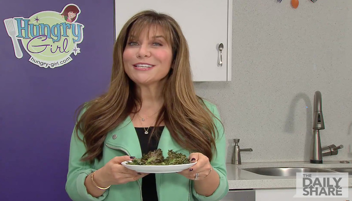 Hungry-Girl Video: HLN: Baked Kale Chips (December 2014)