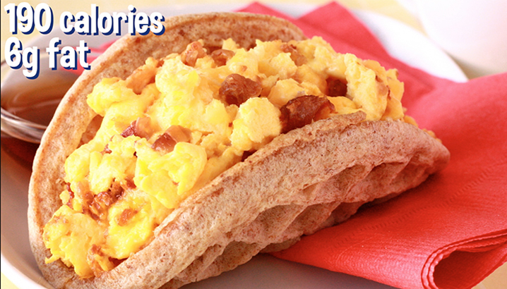 Hungry-Girl Video: Breakfast Waffle Taco
