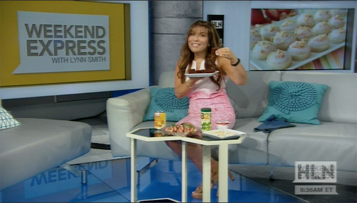 Hungry-Girl Video: HLN Weekend Express (June 2015)