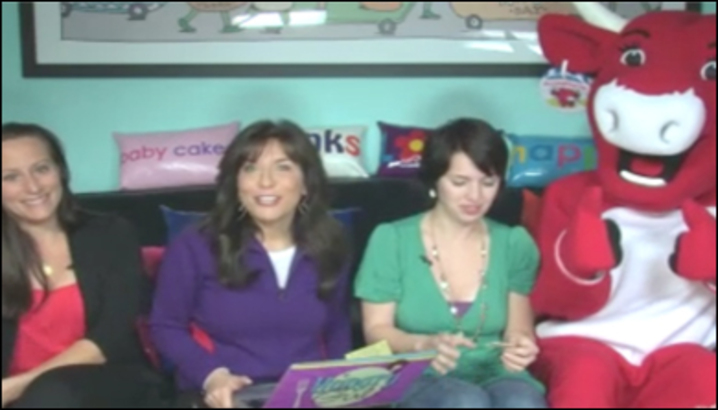 Hungry-Girl Video: Sponsored Video: The Laughing Cow Visits the HG HQ for TV Snacking Tips!