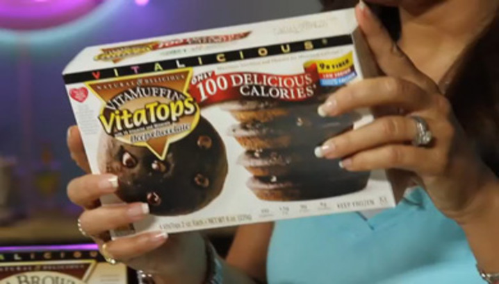 Hungry-Girl Video: Sponsored Video: HG Makes VitaTop Whoopie Pies! (Hooray for VitaTops!)
