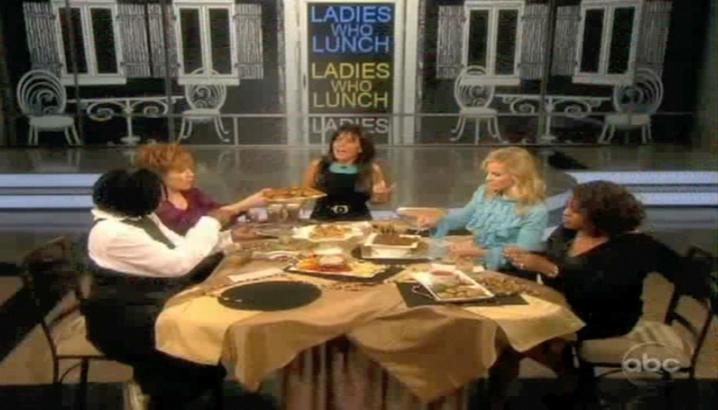 Hungry-Girl Video: The View (December 2011)