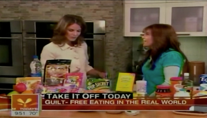 Hungry-Girl Video: The Today Show (May 2008)