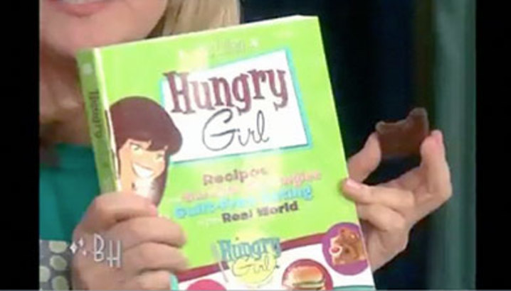 Hungry-Girl Video: The Bonnie Hunt Show (June 2009)