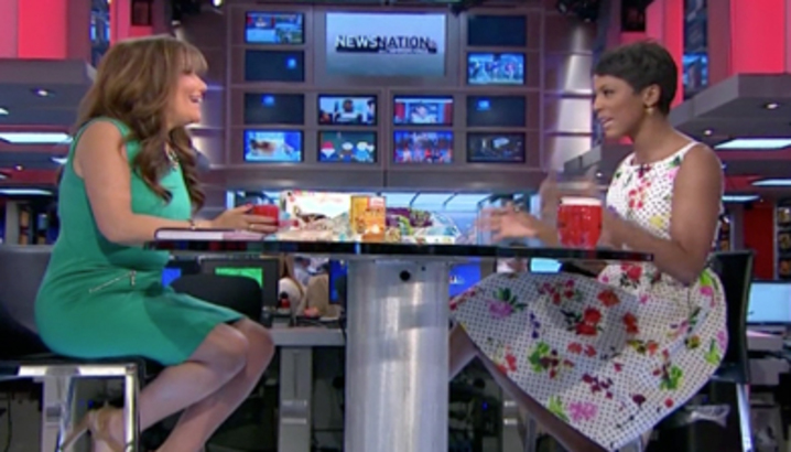 Hungry-Girl Video: NewsNation with Tamron Hall (May 2014)