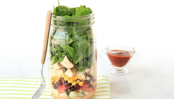 Hungry-Girl Video: How To… Make Salad in a Jar